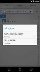 Sony Xpéria Z1 - Contact, Appels, SMS/MMS - Envoyer un MMS - Étape 8