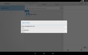 Sony Xperia Tablet Z2 (SGP521) - MMS - afbeeldingen verzenden - Stap 7