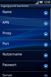 Sony Ericsson Xperia X8 - MMS - Manuelle Konfiguration - 10 / 17