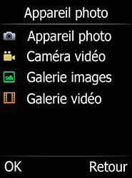 Doro 6520 - Photos, vidéos, musique - Prendre une photo - Étape 6