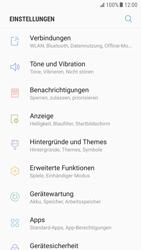 Samsung Galaxy S6 Edge - Android Nougat - Internet und Datenroaming - Prüfen, ob Datenkonnektivität aktiviert ist - Schritt 4