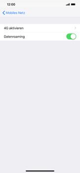 Apple iPhone XS Max - Ausland - Auslandskosten vermeiden - Schritt 7