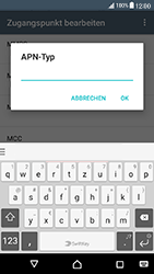 Sony Xperia X Compact - MMS - Manuelle Konfiguration - Schritt 13