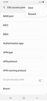 Samsung Galaxy A40 - Internet - Manual configuration - Step 17