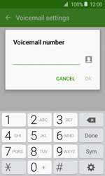 Samsung J120 Galaxy J1 (2016) - Voicemail - Manual configuration - Step 8