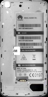 Huawei Y6 - SIM-Karte - Einlegen - Schritt 3