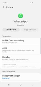 Samsung Galaxy S10 Plus - Apps - Eine App deinstallieren - Schritt 6