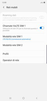 Samsung Galaxy Note 10 - Rete - Come attivare la connessione di rete 4G - Fase 8