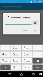 Sony Sony Xperia Z5 (E6653) - Voicemail - Manual configuration - Step 8