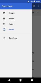 Sony Xperia XZ2 - E-mail - Sending emails - Step 13