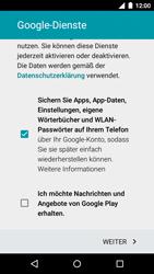 Motorola Moto G 3rd Gen. (2015) - Apps - Konto anlegen und einrichten - 14 / 18