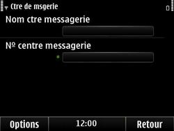 Nokia E6-00 - SMS - configuration manuelle - Étape 8