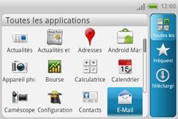 HTC A810e ChaCha - E-mail - Configuration manuelle - Étape 3