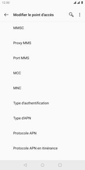 OnePlus 5T - Internet - Configuration manuelle - Étape 13