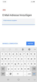 Samsung Galaxy S20 5G - E-Mail - Manuelle Konfiguration - Schritt 10