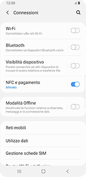 Samsung Galaxy S9 - Android Pie - Internet e roaming dati - Disattivazione del roaming dati - Fase 5