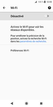 Sony Xperia XZ2 - Wifi - configuration manuelle - Étape 5