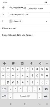 Samsung Galaxy Note 10+ - E-mails - Envoyer un e-mail - Étape 11