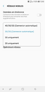 Samsung Galaxy J6 - Internet et connexion - Activer la 4G - Étape 7