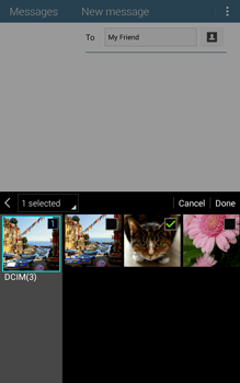 Samsung T335 Galaxy Tab 4 8-0 - MMS - Sending pictures - Step 18