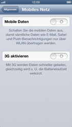 Apple iPhone 5 - Internet und Datenroaming - Manuelle Konfiguration - Schritt 5