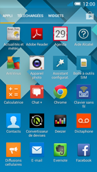 Alcatel OT-5036X Pop C5 - E-mail - Configuration manuelle - Étape 3