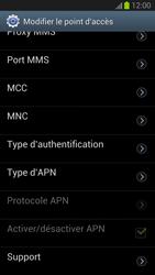 Samsung Galaxy S III - MMS - Configuration manuelle - Étape 12