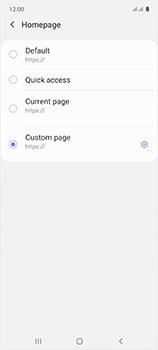 Samsung Galaxy A51 - Internet and data roaming - Manual configuration - Step 31