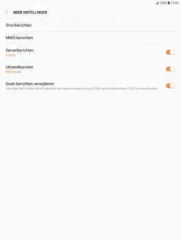 Samsung Galaxy Tab S2 9.7 - Android Nougat - SMS - Handmatig instellen - Stap 7