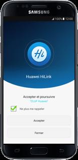 Huawei E5770 - Prise en main - Connection du modem à votre smartphone ou tablette - Étape 4