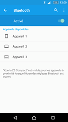Sony Xperia Z5 Compact - Bluetooth - Jumelage d