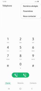 Samsung Galaxy A70 - Messagerie vocale - configuration manuelle - Étape 6