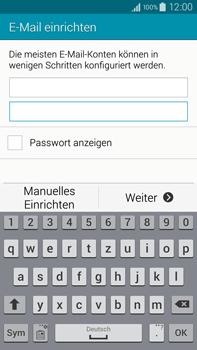Samsung Galaxy Note 4 - E-Mail - Manuelle Konfiguration - Schritt 6