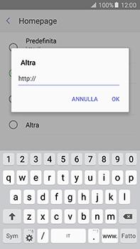 Samsung Galaxy A8 - Internet e roaming dati - Configurazione manuale - Fase 26