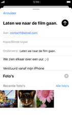Apple iPhone 7 - iOS 13 - E-mail - e-mail versturen - Stap 10