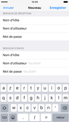 Apple iPhone 6s iOS 10 - E-mail - configuration manuelle - Étape 18