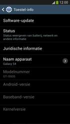Samsung I9505 Galaxy S IV LTE - software - update installeren zonder pc - stap 6