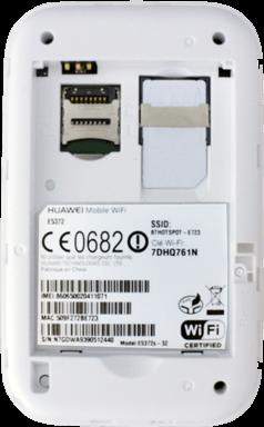 Huawei E5372 - Premiers pas - Noter les codes Wi-Fi - Étape 6