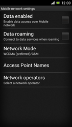 Sony Xperia J - Internet and data roaming - Manual configuration - Step 6
