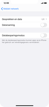 Apple iPhone X - iOS 13 - internet - activeer 4G Internet - stap 5