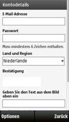 Nokia 5230 - Apps - Konto anlegen und einrichten - 0 / 0