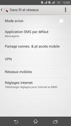 Sony Xperia E4g - Internet et connexion - Partager votre connexion en Wi-Fi - Étape 5