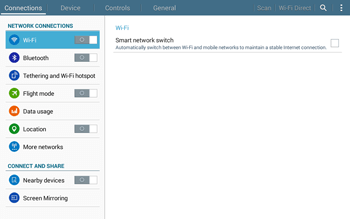 Samsung T535 Galaxy Tab 4 10.1 - Network - Manual network selection - Step 4