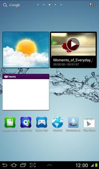 Samsung P3100 Galaxy Tab 2 7-0 - Internet - Examples des sites mobile - Étape 1