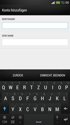 HTC One Mini - E-Mail - Konto einrichten - Schritt 17