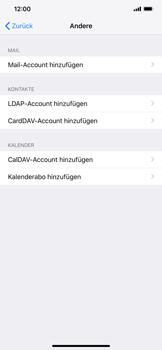 Apple iPhone XS Max - E-Mail - Manuelle Konfiguration - Schritt 6