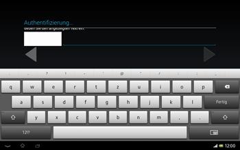 Sony Xperia Tablet Z LTE - Apps - Einrichten des App Stores - Schritt 20