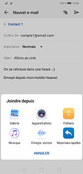 Huawei Mate 20 - E-mail - envoyer un e-mail - Étape 9