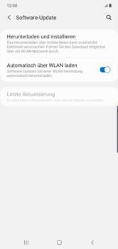 Samsung Galaxy Note 10 Plus 5G - Software - Installieren von Software-Updates - Schritt 5