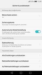 Huawei Honor 8 - Fehlerbehebung - Handy zurücksetzen - 9 / 12
